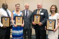 Five employees honored with Presidential Awards