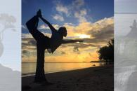 Yoga Pose Captures Best of Healthy Duke Photo Contest
