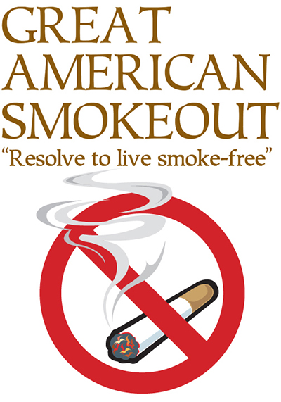 Great American Smokeout | Human Resources