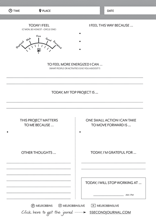 How to Have the Best Day Ever Worksheet