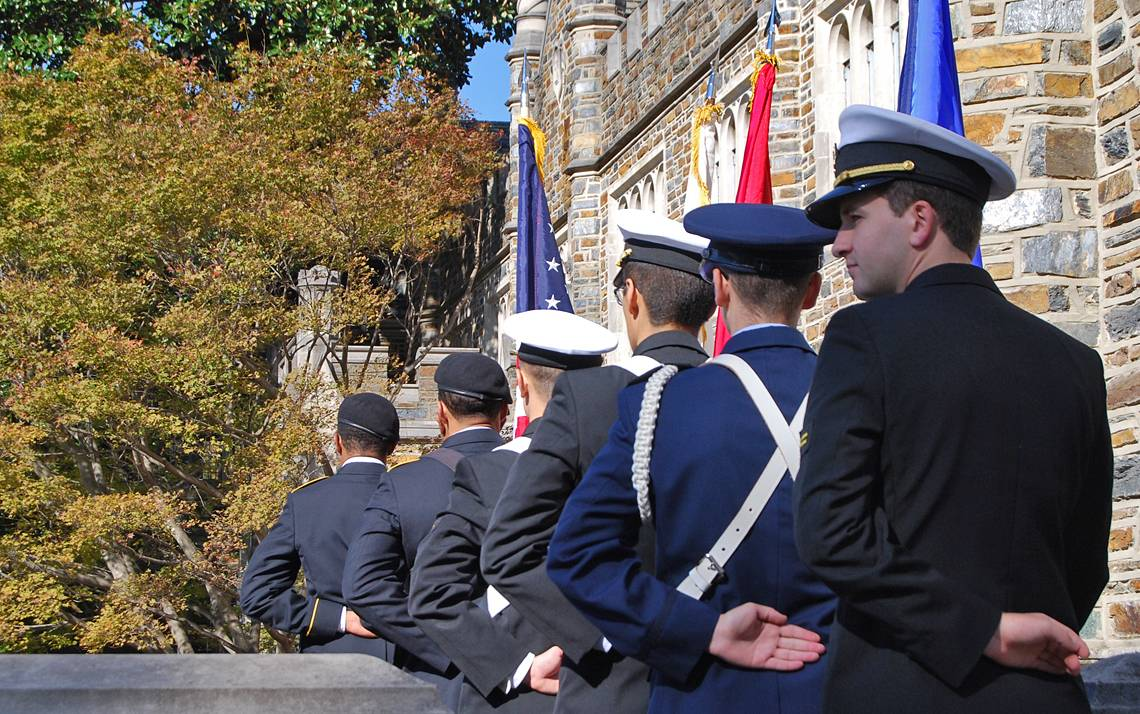 Duke in Pics: Veterans Day Commemoration