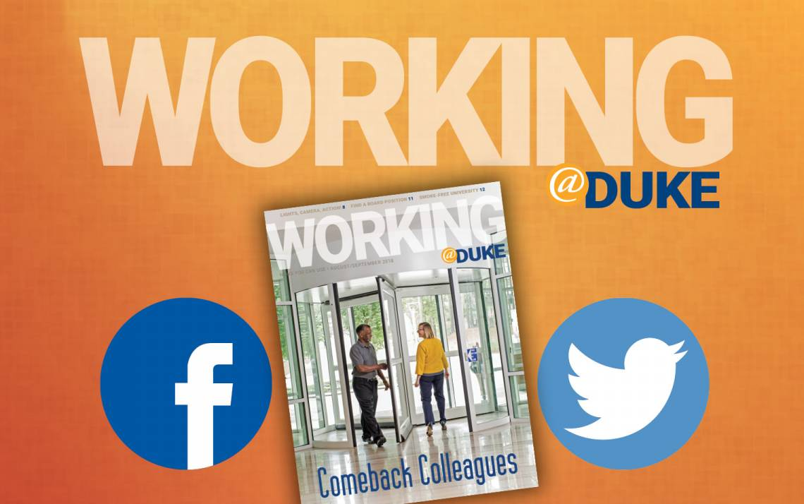 Connect with Working@Duke snippet | Human Resources