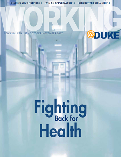 October/November, 2017 Working@Duke