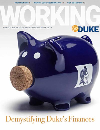 August/September, 2019 Working@Duke