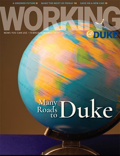 February/March, 2020 Working@Duke
