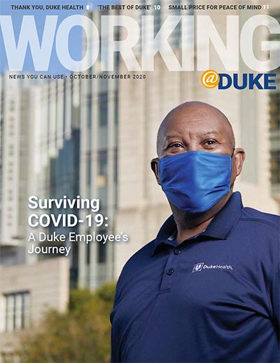 October/November, 2020 Working@Duke
