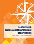Learning & Organization Development Course Catalog (July - December, 2017)