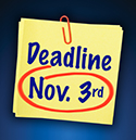 Benefits Open Enrollment for 2018 - Deadline: Nov. 3rd